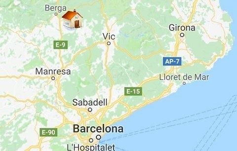 Holiday house Puigdesala rural villa in Barcelona region